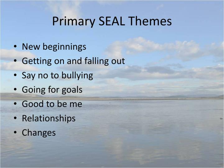 Primary SEAL Themes