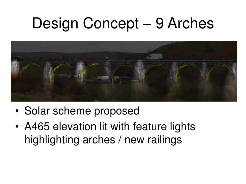 Design Concept – 9 Arches