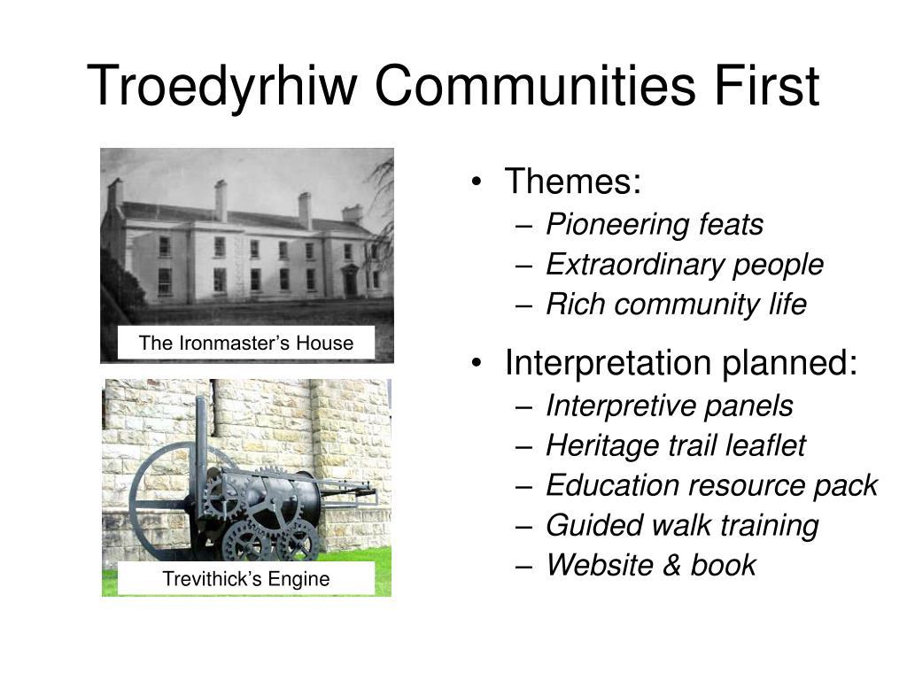 Troedyrhiw Communities First