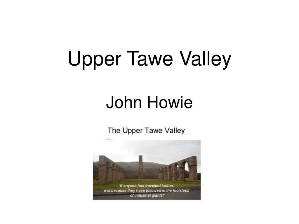 Upper Tawe Valley