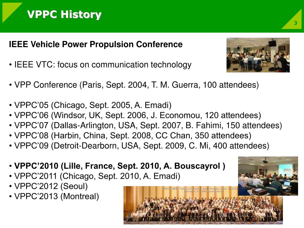 VPPC History