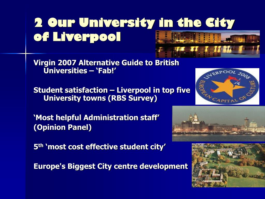 2 Our University in the City of Liverpool