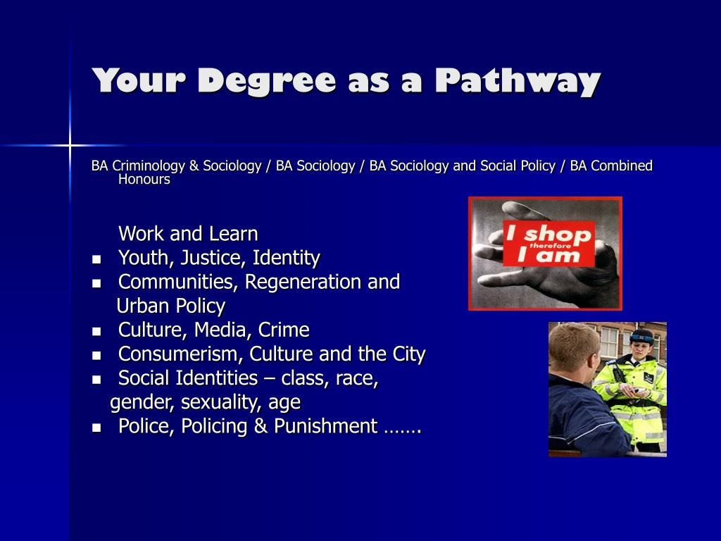 Your Degree as a Pathway