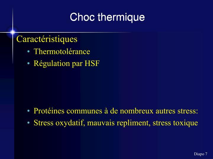 Choc thermique