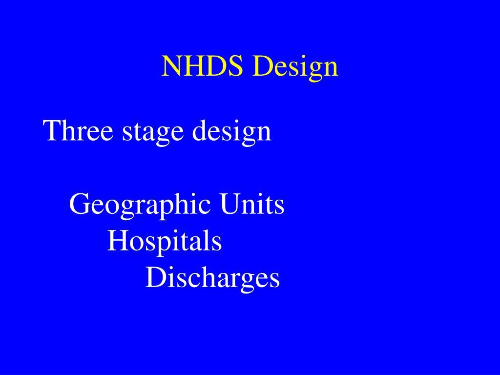 NHDS Design