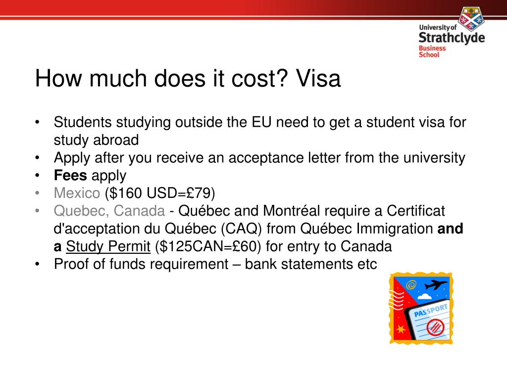 How much does it cost? Visa