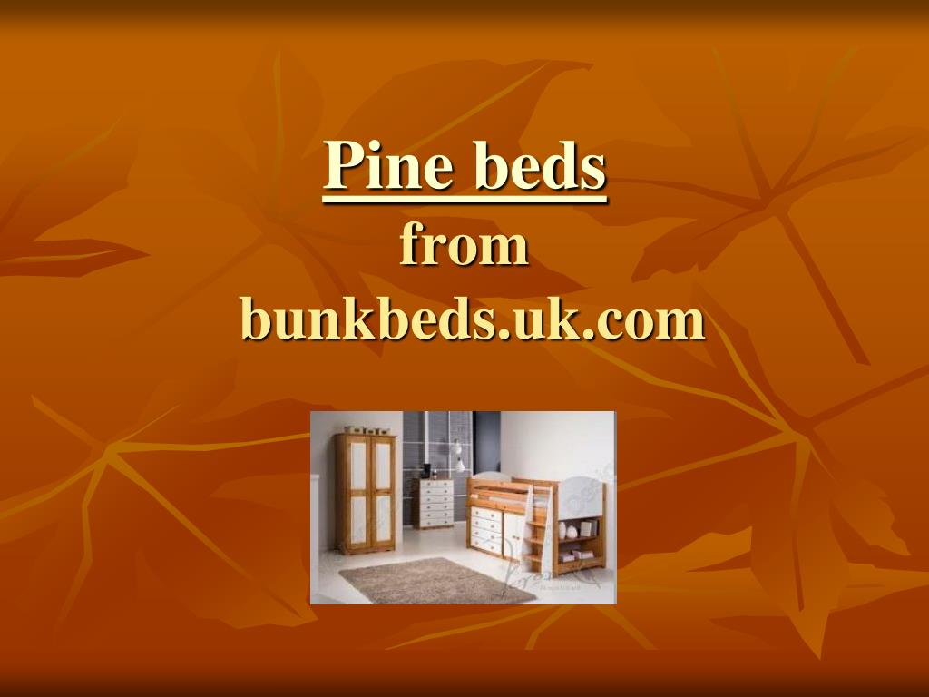 pine beds from bunkbeds uk com