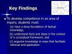 key findings52
