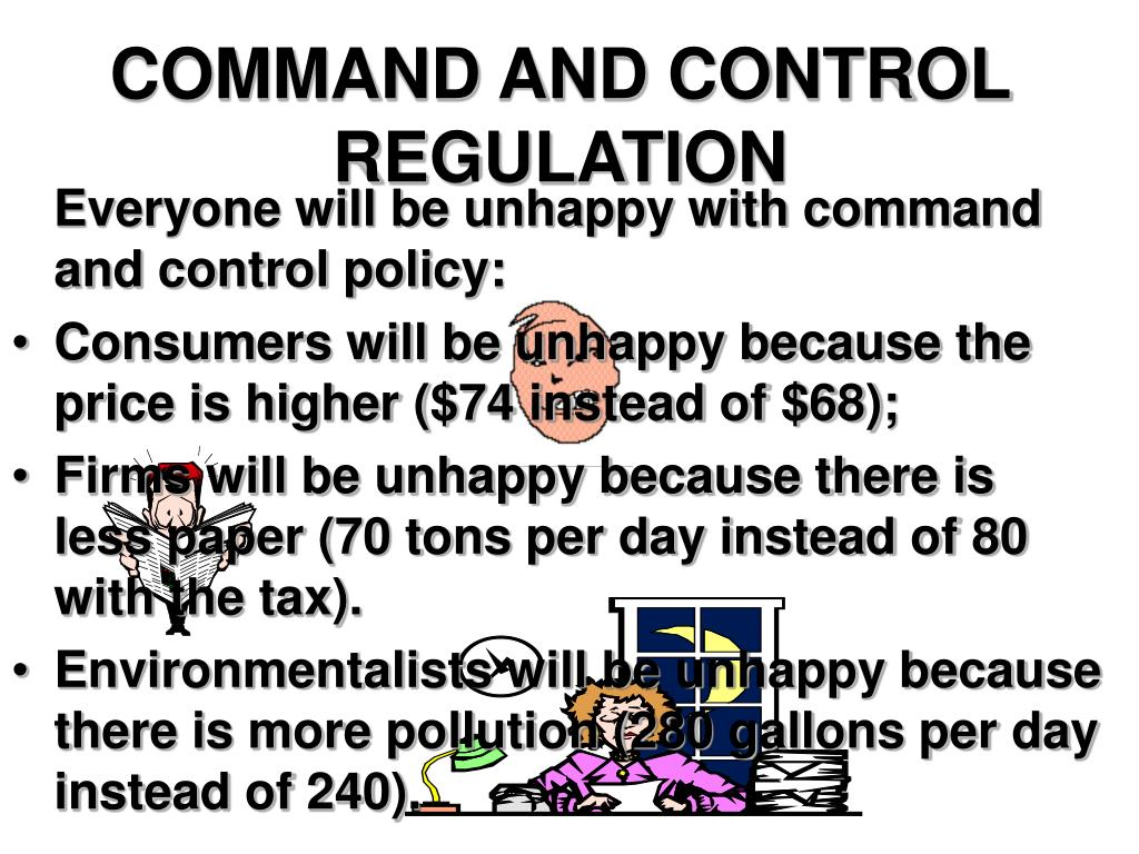COMMAND AND CONTROL REGULATION