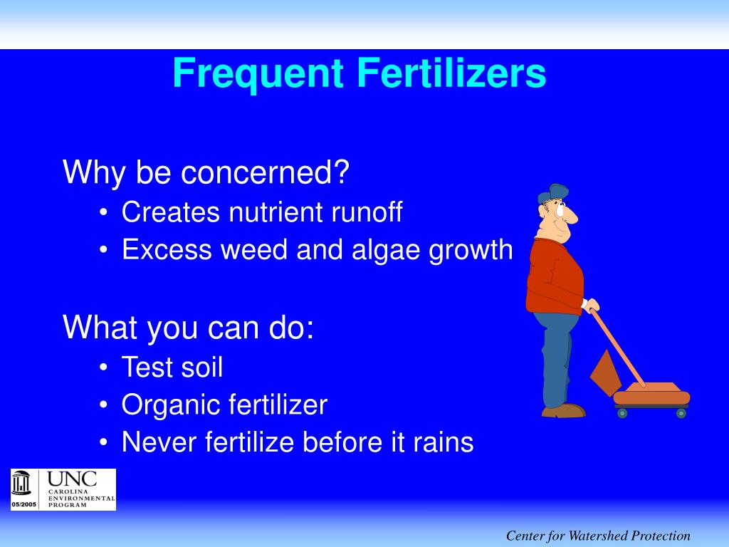 Frequent Fertilizers