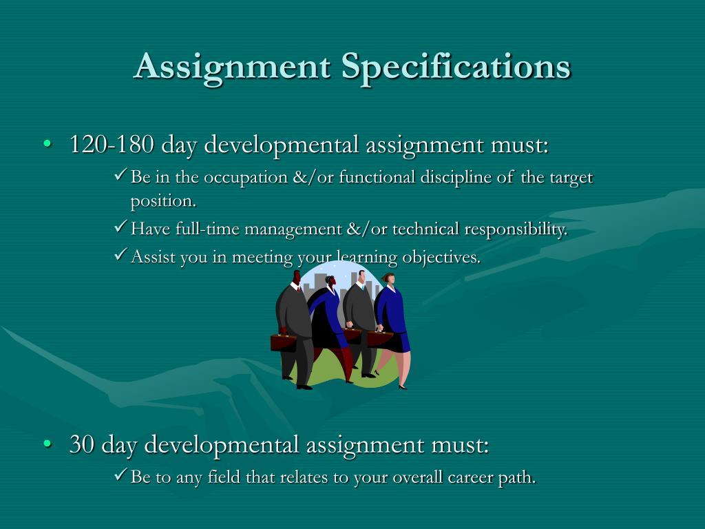 Assignment Specifications
