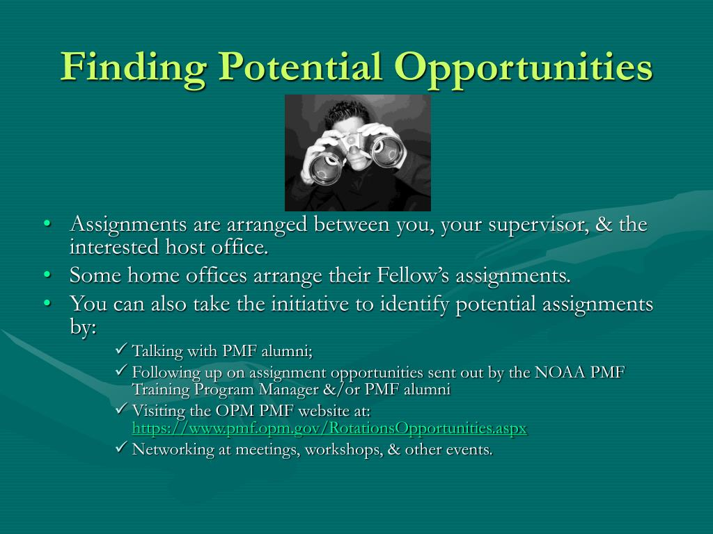 Finding Potential Opportunities