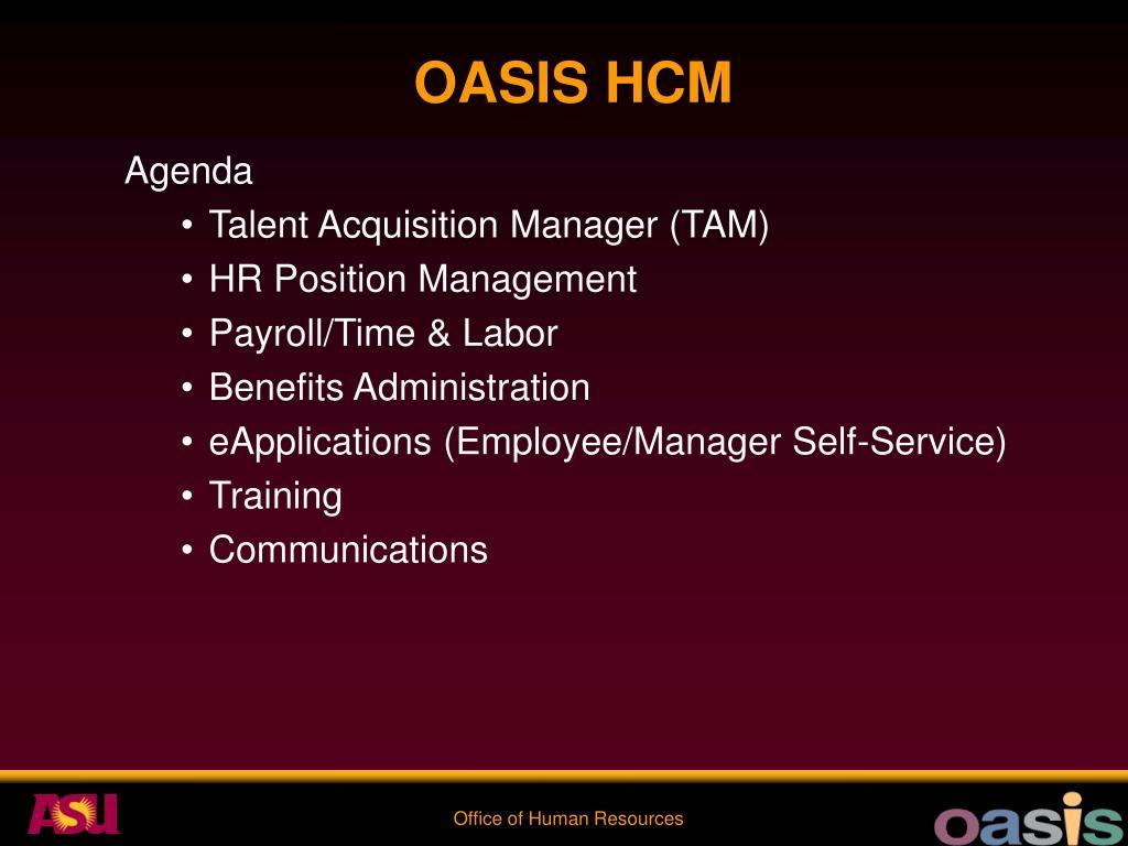 OASIS HCM