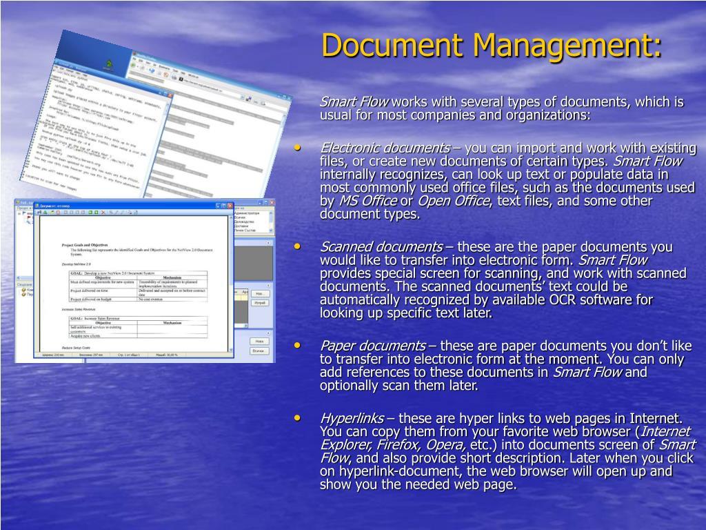Document Management: