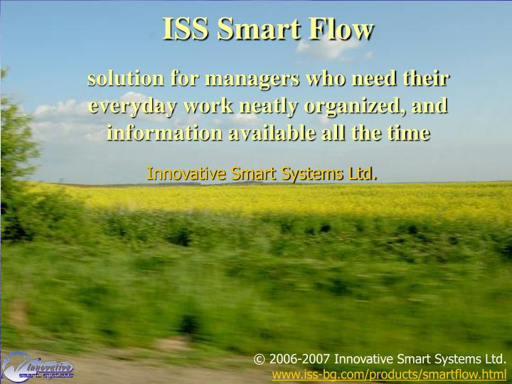 ISS Smart Flow