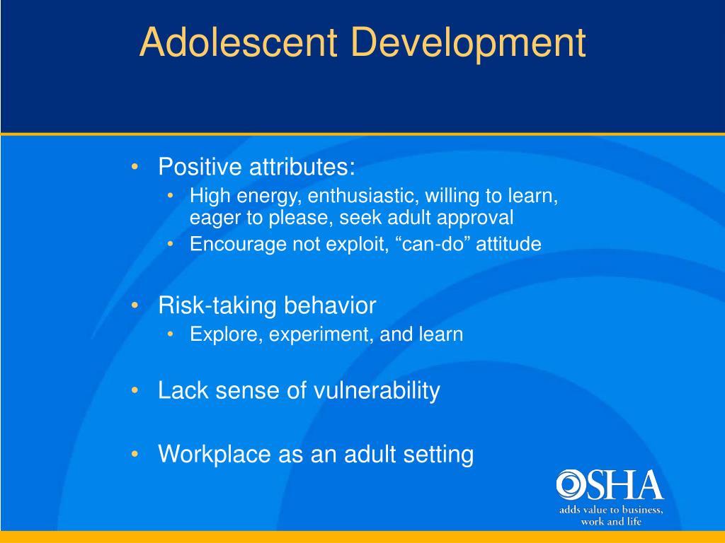 Adolescent Development