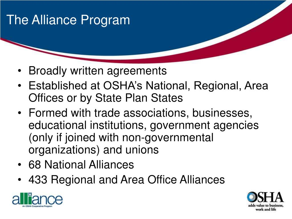 The Alliance Program