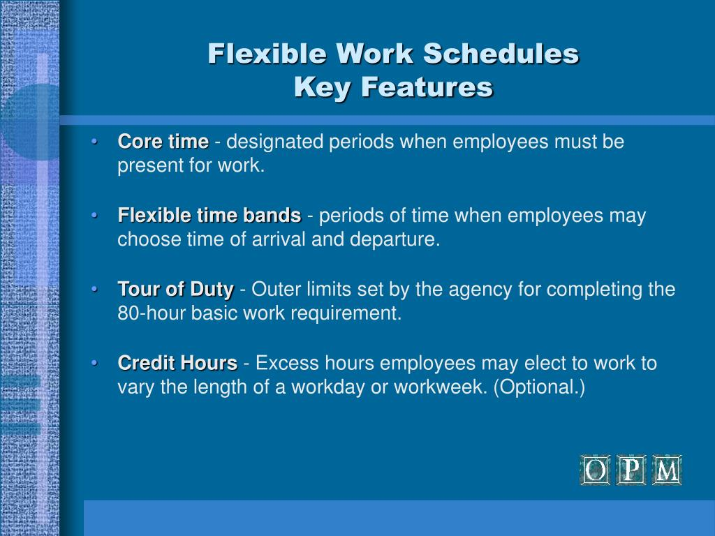 Flexible Work Schedules