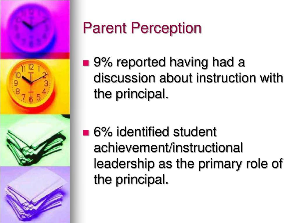 Parent Perception
