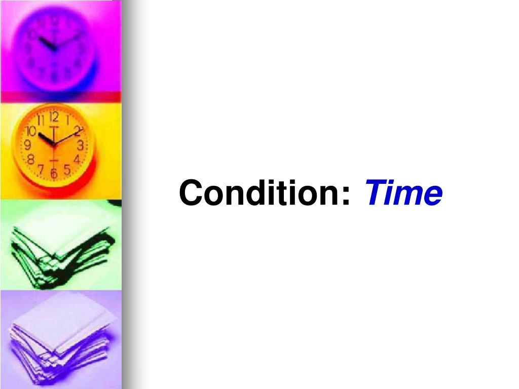 Condition: