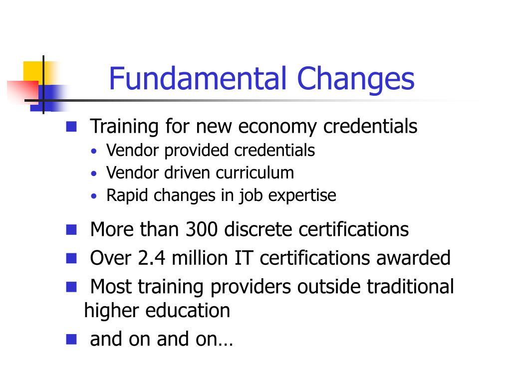 Fundamental Changes