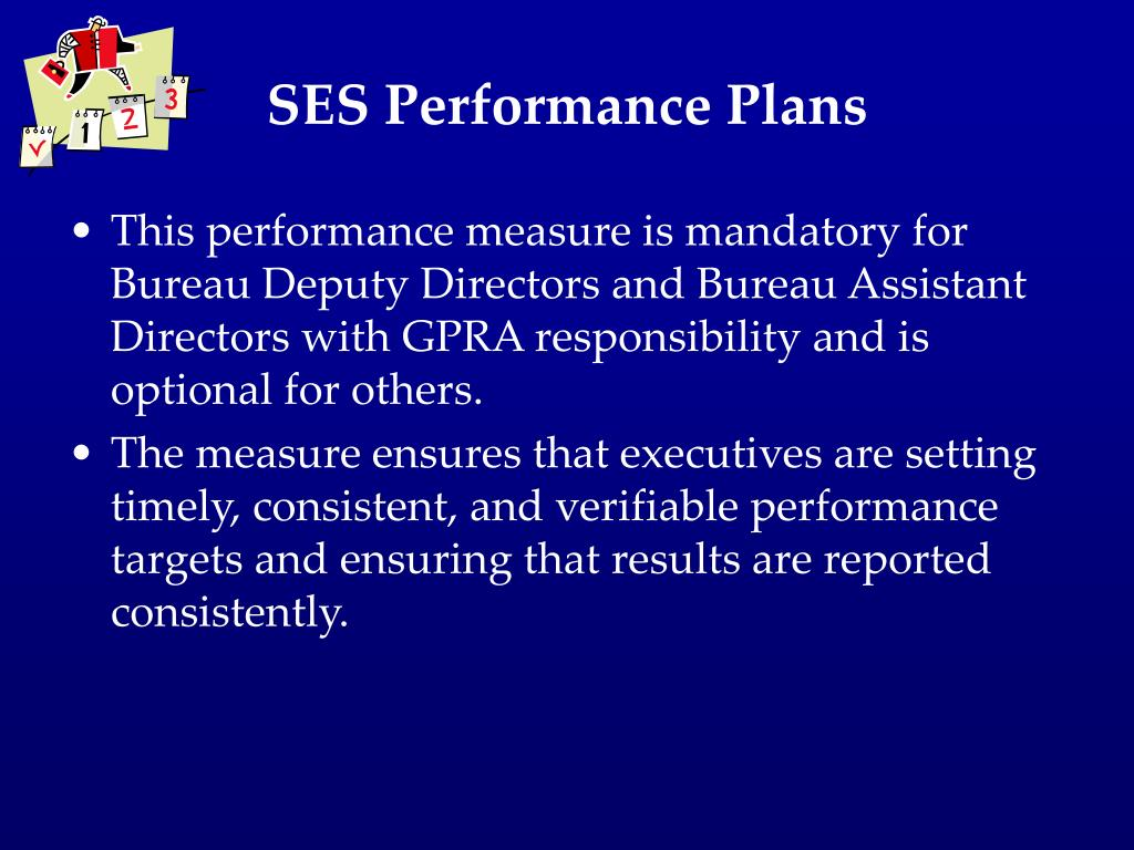 SES Performance Plans