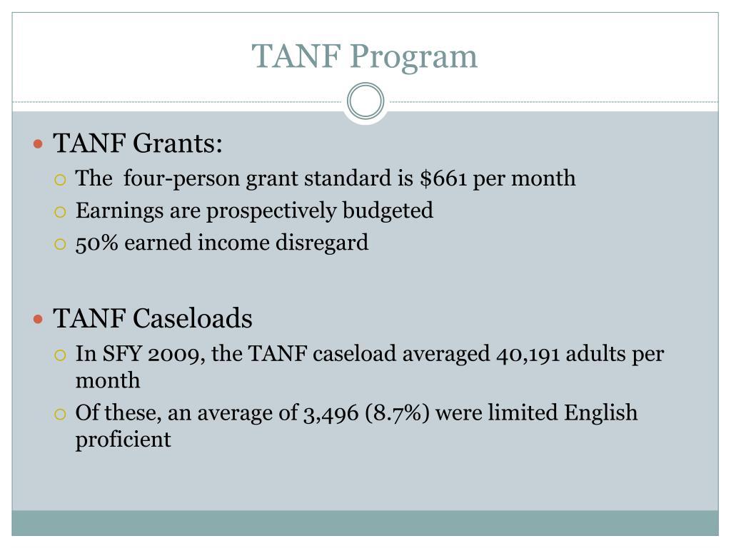 TANF Program
