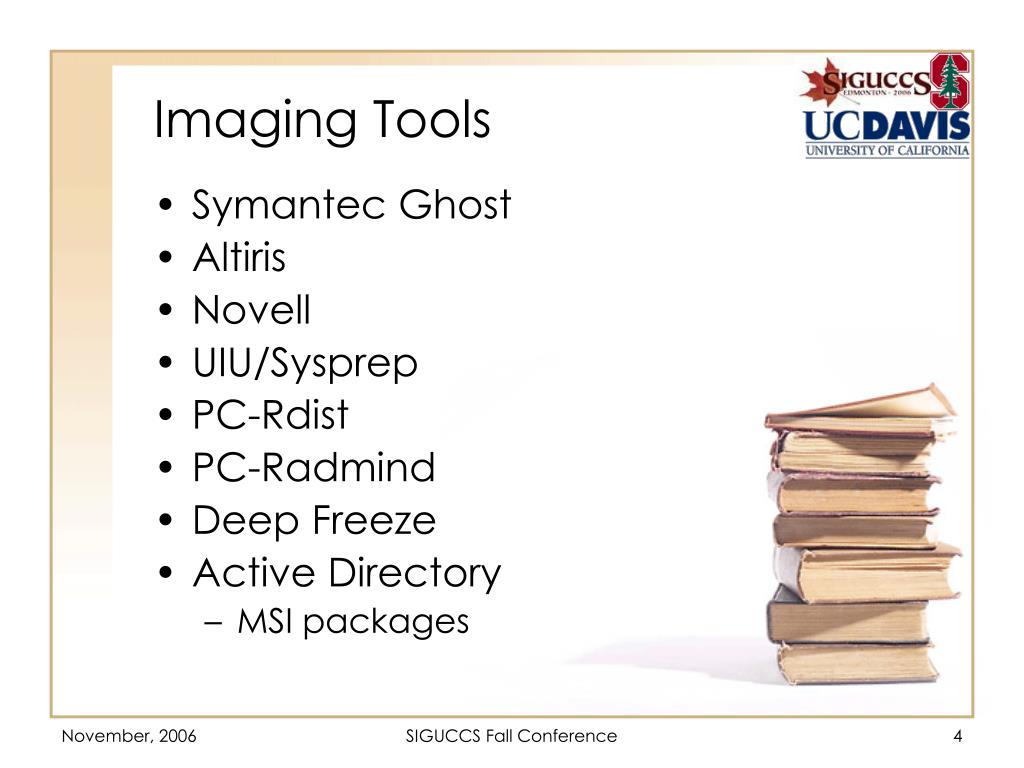 Imaging Tools