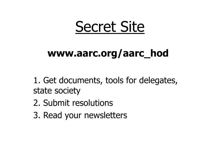 Secret Site