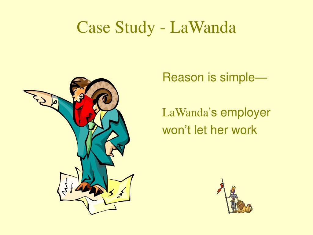 Case Study - LaWanda