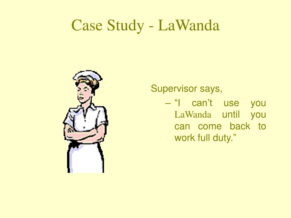 Supervisor says,