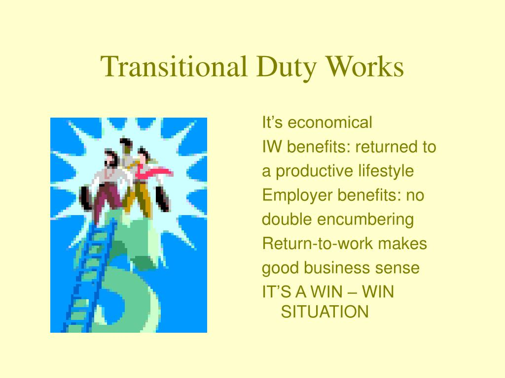 Transitional Duty Works