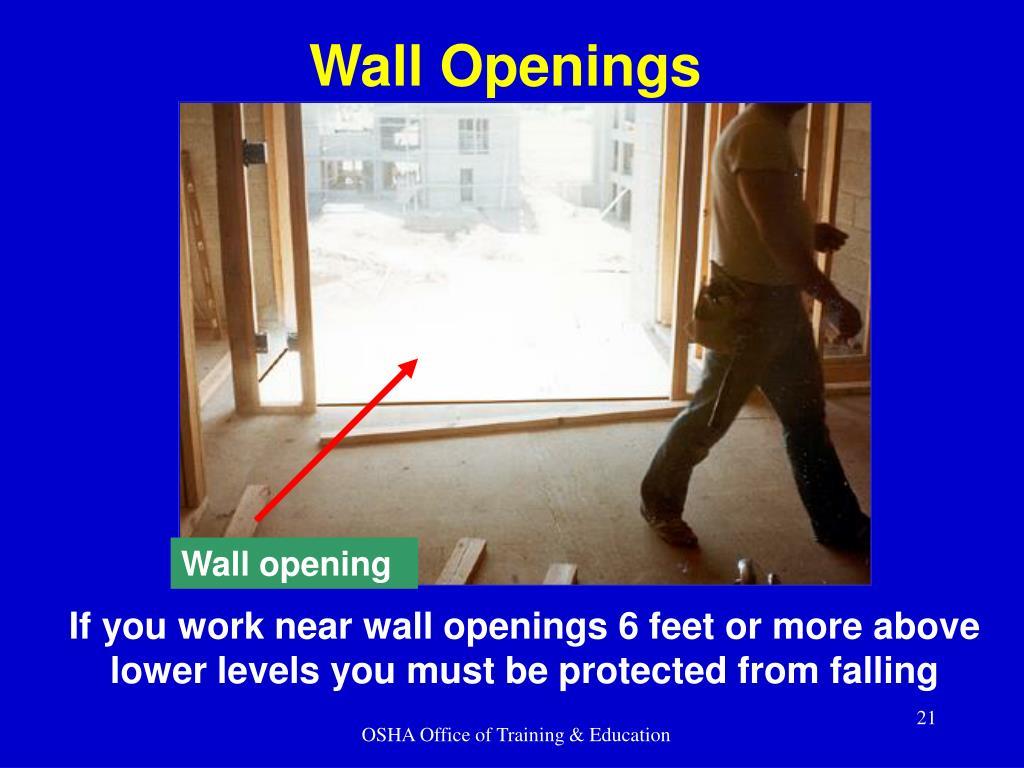 Wall Openings
