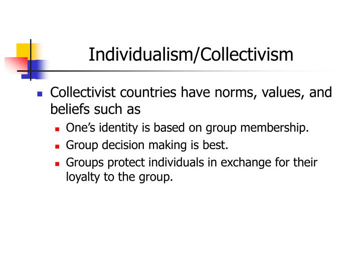 Individualism/Collectivism