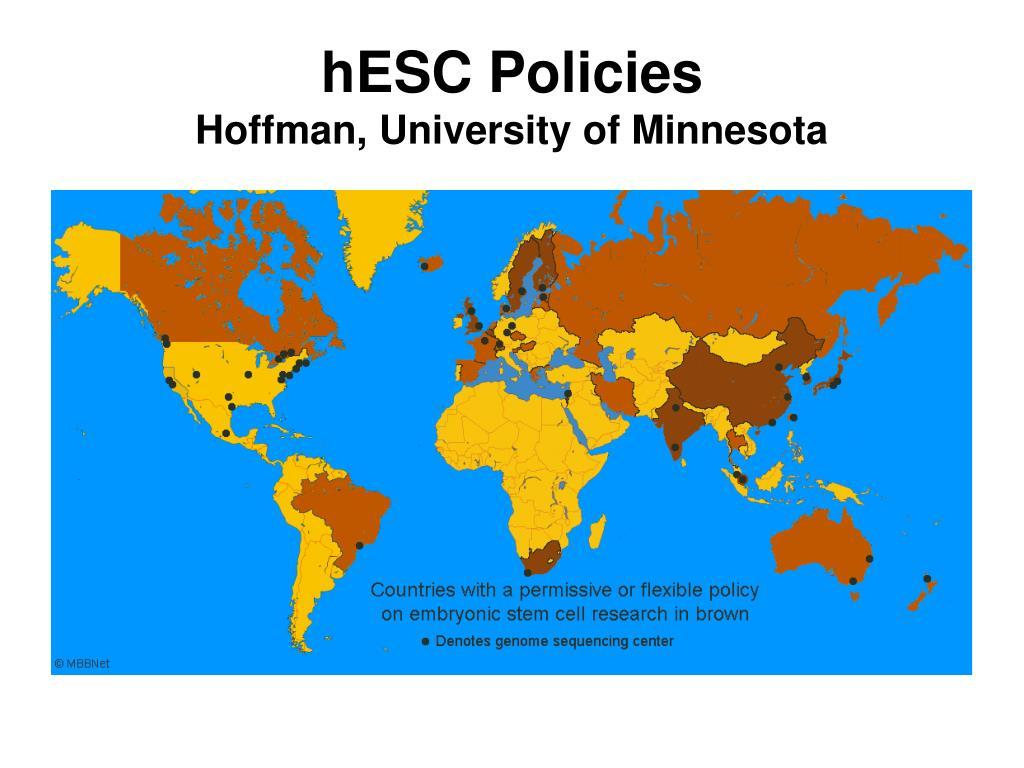 hESC Policies