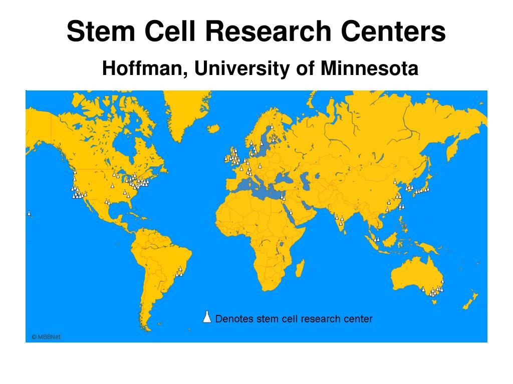 Stem Cell Research Centers