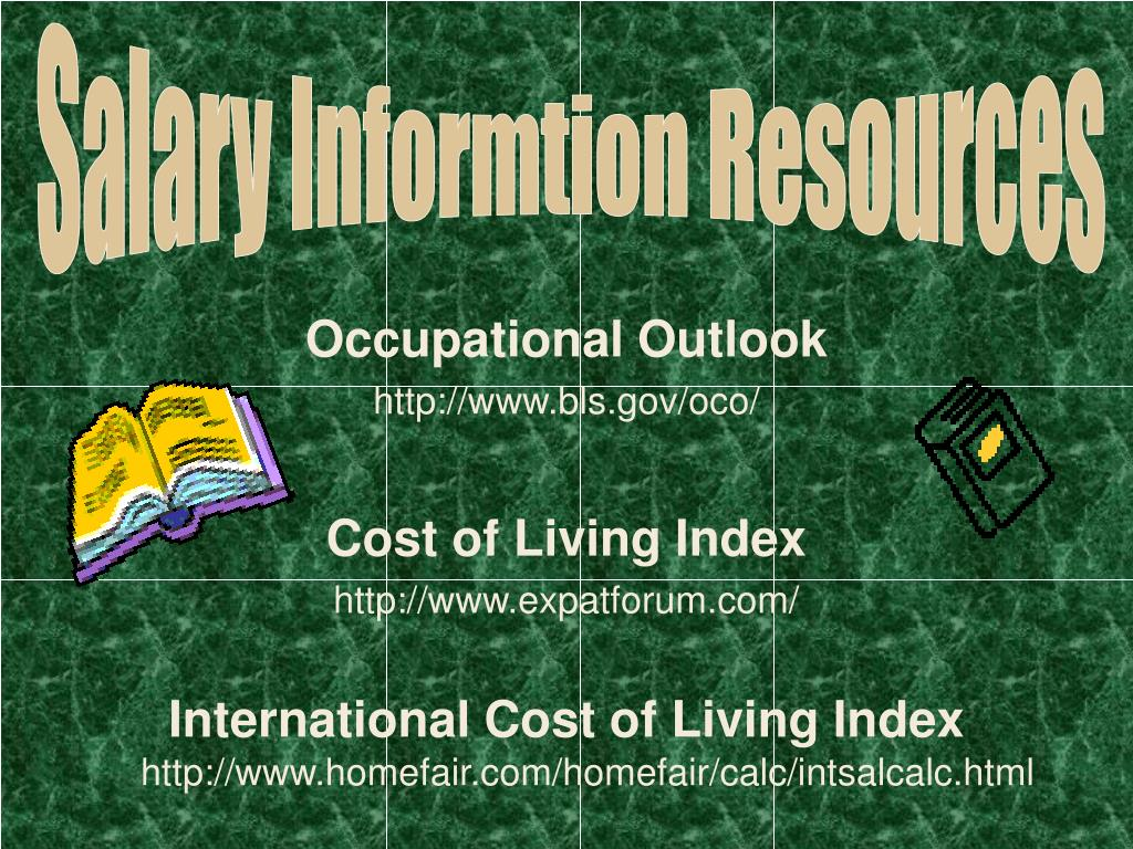 Salary Informtion Resources