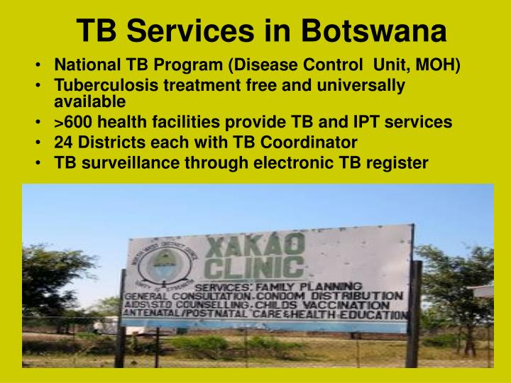 TB Services in Botswana