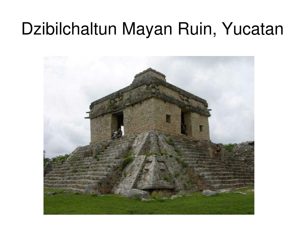 Dzibilchaltun Mayan Ruin, Yucatan