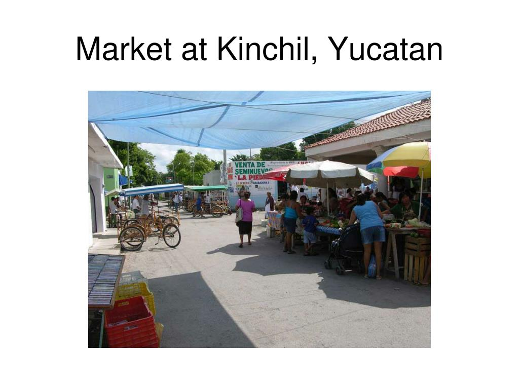 Market at Kinchil, Yucatan
