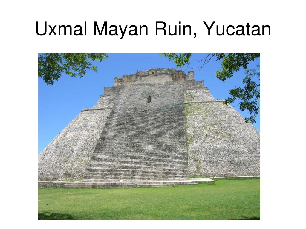 Uxmal Mayan Ruin, Yucatan