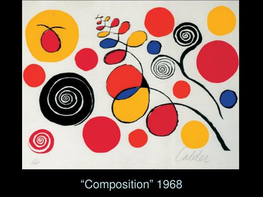 """""""Composition"""" 1968"""