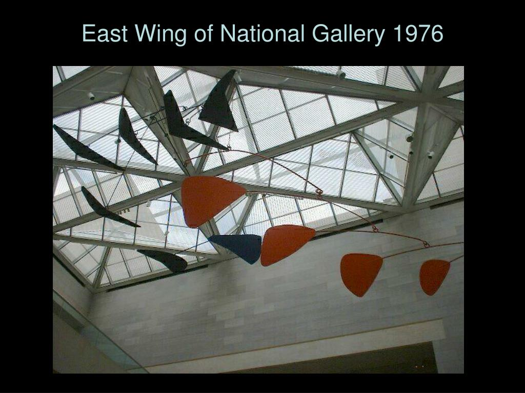 East Wing of National Gallery 1976