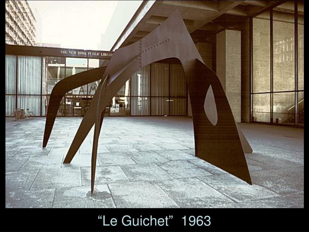 """""""Le Guichet""""  1963"""