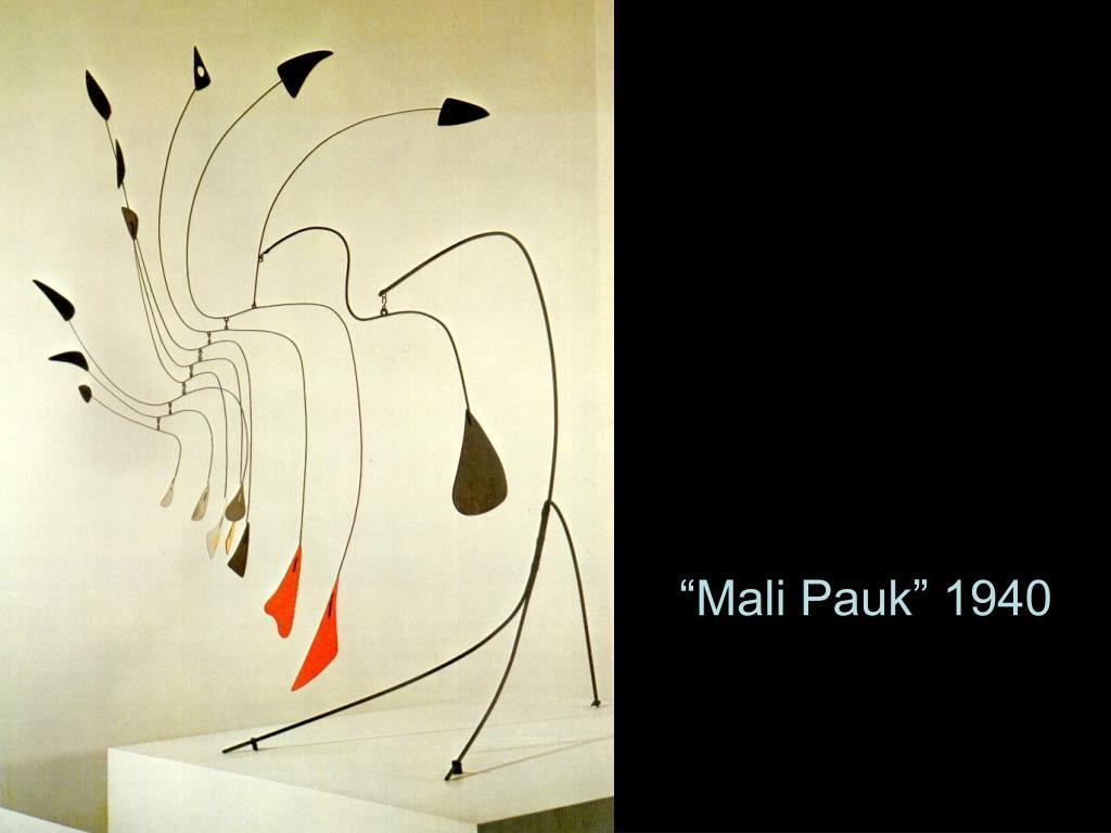 """""""Mali Pauk"""" 1940"""