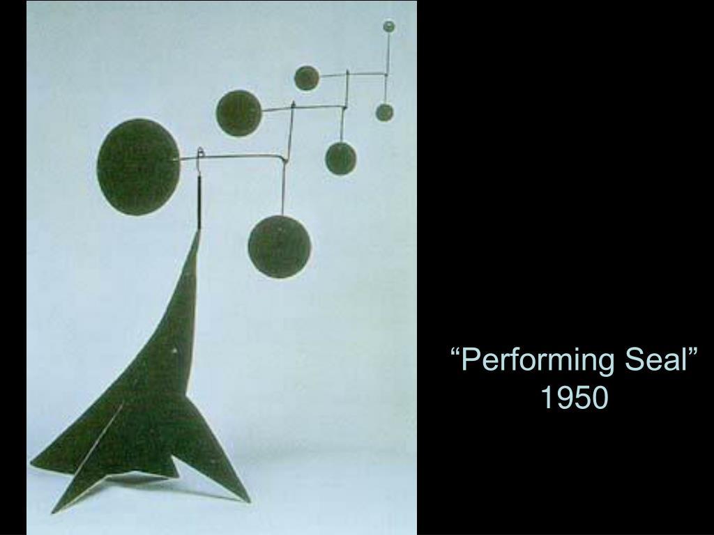 """Performing Seal"""