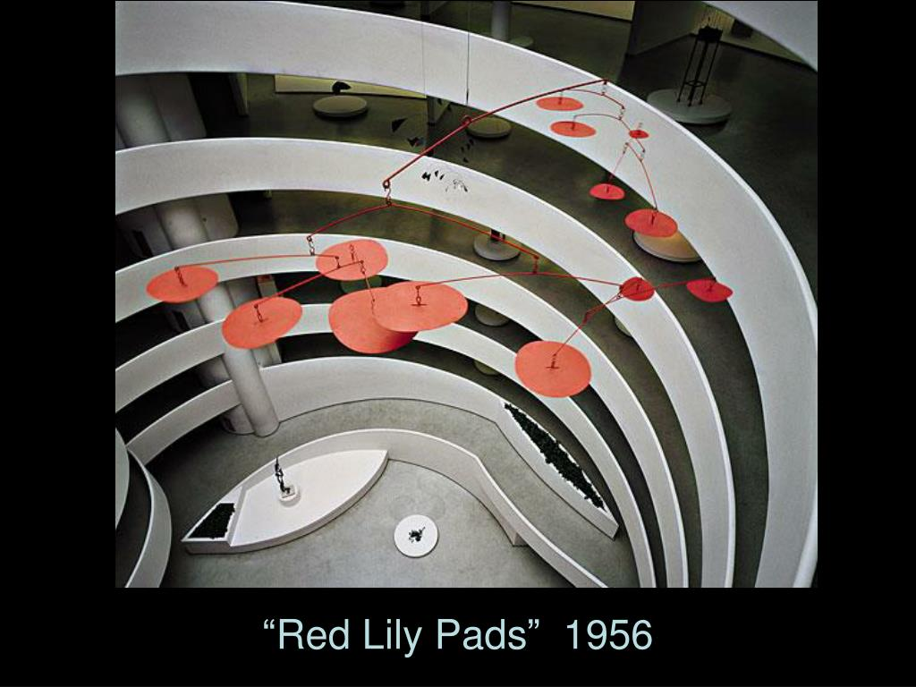 """""""Red Lily Pads""""  1956"""
