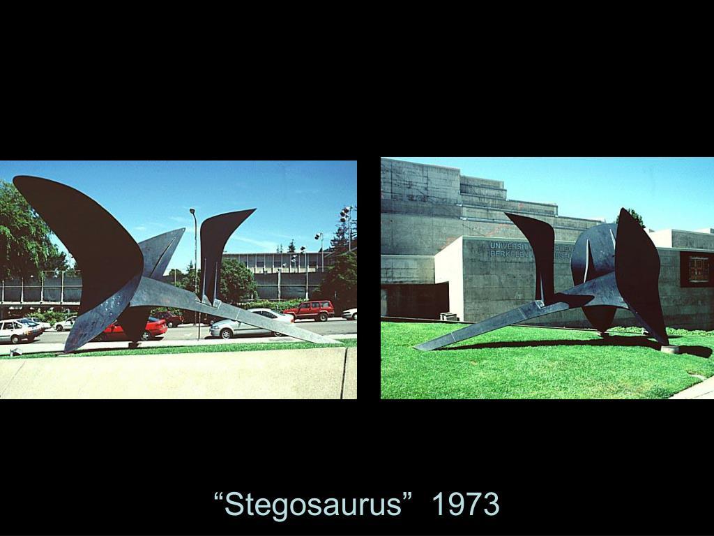 """Stegosaurus""  1973"