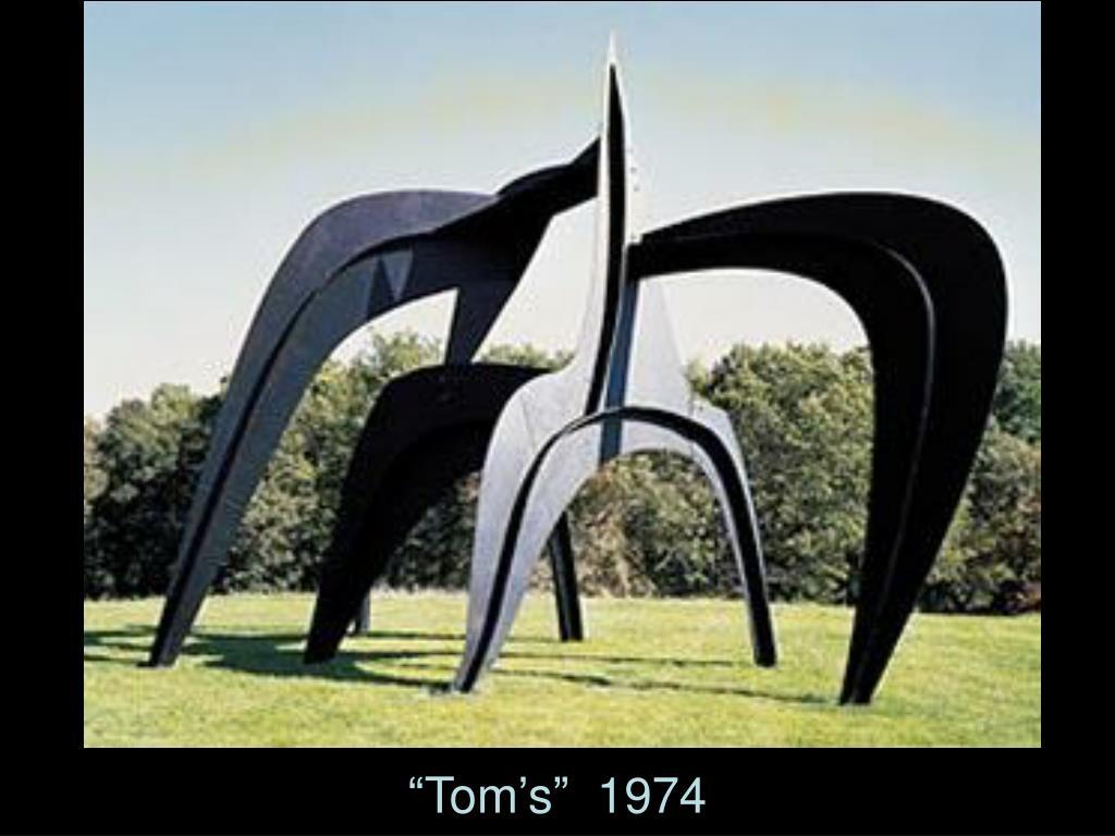 """""""Tom's""""  1974"""