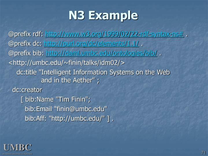 N3 Example